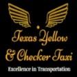 Texas Yellow and Checker Taxi